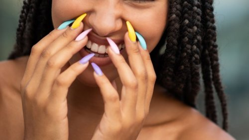 This was predicted to be the most popular nail colour in 2021