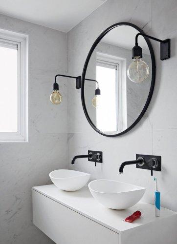 Modern Monochrome Bathroom Ideas: Black & White Bathroom Inspiration