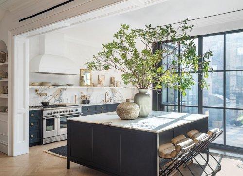 Athena Calderone offers advice for kitchen island design ideas