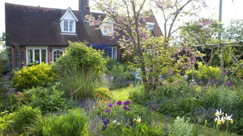 Explore this delightful cottage garden