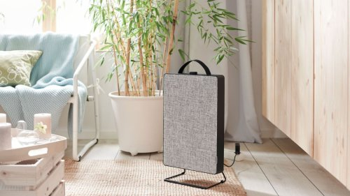 The new IKEA FÖRNUFTIG air purifier will keep air clean without compromising on style