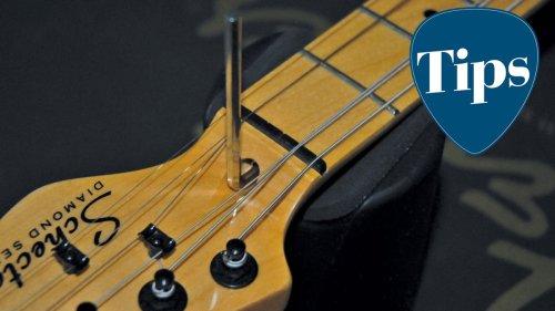 How to adjust a guitar truss rod