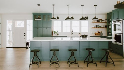 Bobby Berk reveals the perfect green paint for kitchens