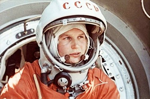 On This Day in Space! June 16, 1963: Valentina Tereshkova becomes first woman in space
