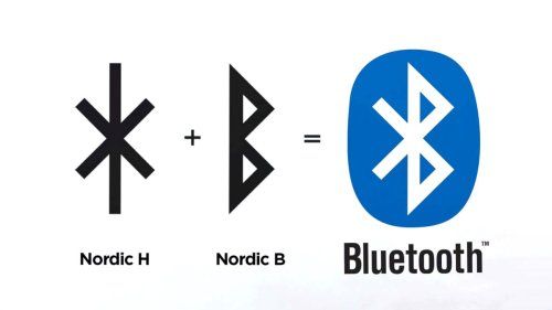The Bluetooth logo has an awesome secret message
