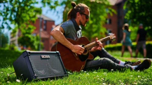 Roland's Cube Street Amp Gets Promoted to Boss