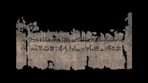 Ancient papyrus holds the world's oldest guide to mummification