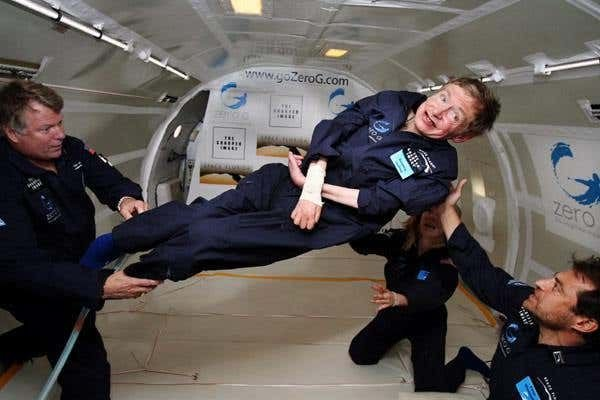 Disabled space enthusiasts can now apply for Zero Gravity space training