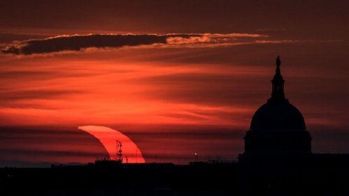 'Ring of fire' solar eclipse 2021: See amazing photos from stargazers