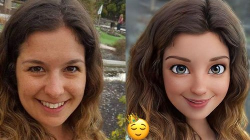 This fun new app turns you into a Pixar character