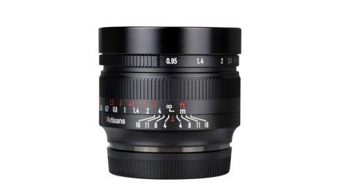 Blistering 50mm f/0.95 arrives for Sony, Nikon, Canon, Fuji, Olympus + Panasonic cameras
