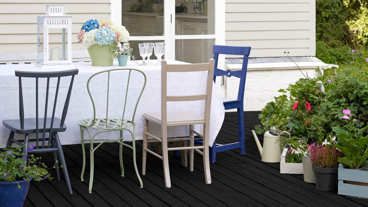 How to paint decking and protect your deck from the elements
