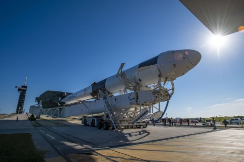 SpaceX Dragon 'go' to launch NASA cargo to space station Thursday
