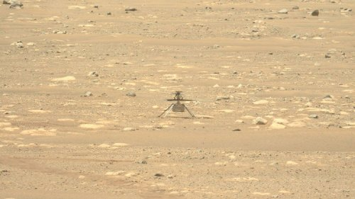 NASA's Mars helicopter Ingenuity aces troublesome spin test