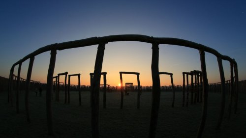 Ancient people lived at German 'Stonehenge,' site of brutal human sacrifices