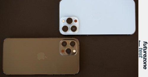 Kameravergleich: iPhone 12 Pro Max vs. iPhone 13 Pro Max