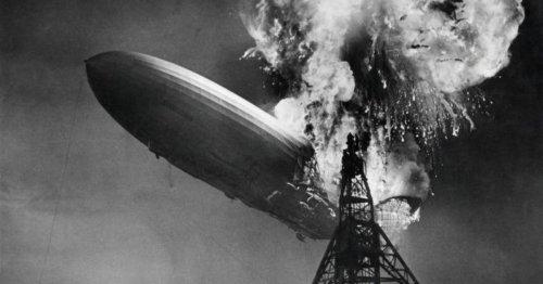 Spektakuläres Video zeigt Hindenburg-Katastrophe in 4K