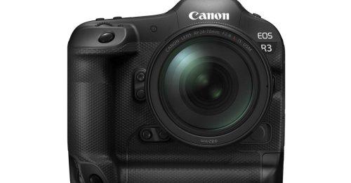 Canon EOS R3: Profikamera macht 30 Fotos pro Sekunde