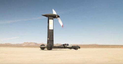 YouTuber gewinnt mit Wind-Auto 10.000-Dollar-Wette gegen Physiker