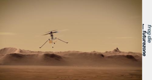 Wieso ist das Fliegen mit einer Drohne am Mars so schwierig?
