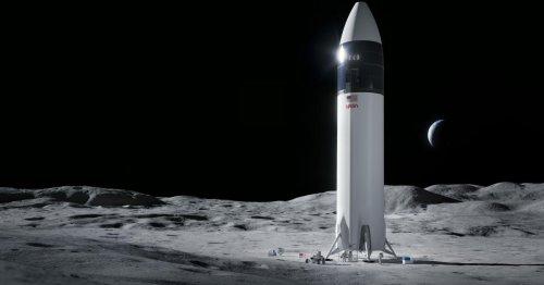 SpaceX wird NASA-Astronauten in 3 Jahren zum Mond bringen