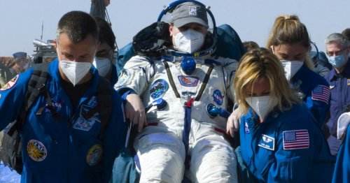 Drei Raumfahrer von ISS zur Erde zurückgekehrt