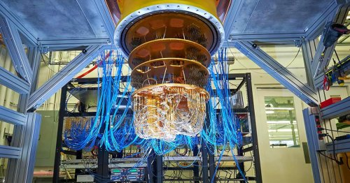 Der Zeitkristall aus Googles Quantencomputer