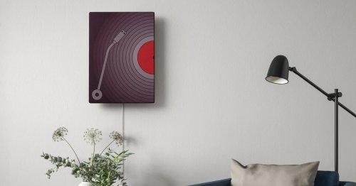 Ikea stellt Bilderrahmen-Lautsprecher vor