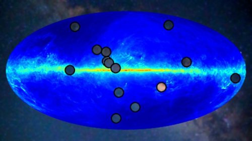 """Mysteriöse Objekte entdeckt: Forscher identifizieren 14 """"Antisterne"""" in der Milchstraße"""