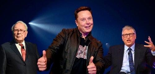 Reichster Mensch der Welt: Elon Musk ist jetzt so reich wie Buffet & Gates zusammen