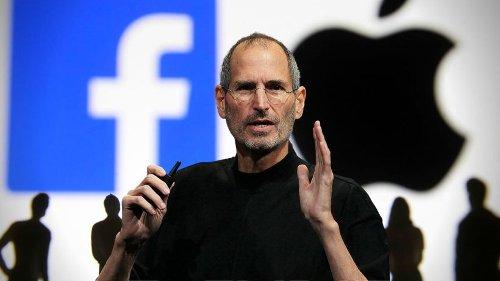 Steve Jobs: Für Facebook hatte er genau ein Wort übrig