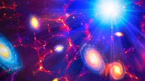 Brücke zwischen Galaxien: Scheinbar größte rotierende Struktur im Universum entdeckt