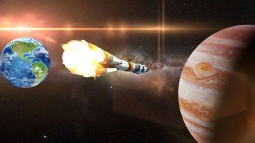 Wie lange fliegt man eigentlich zum Jupiter?