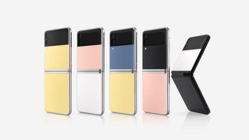 Samsung macht faltbares Smartphone Galaxy Z Flip3 noch individueller