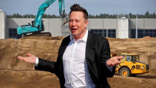 Elon Musk gibt auf: Deutsche Behörden ermitteln bei Fabrik-Bau