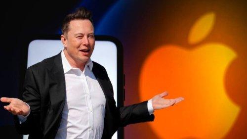 Elon Musk übt scharfe Kritik an Apple – aus gutem Grund
