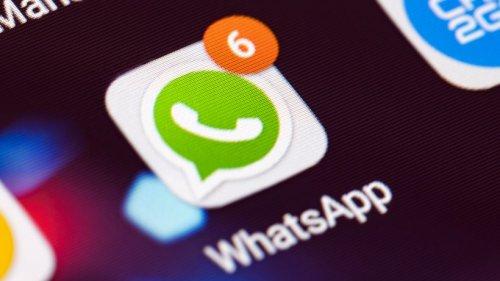 WhatsApp-Nachricht: Ein Symbol sollte dich sofort stutzig machen
