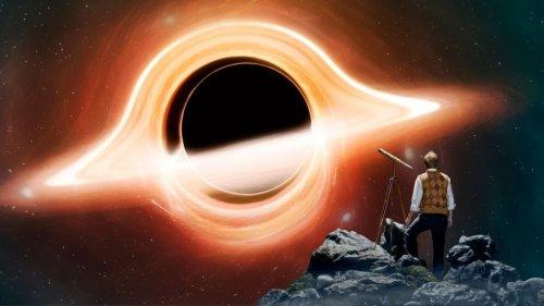 Schwarzes Loch: Fotos offenbaren beispiellosen Anblick