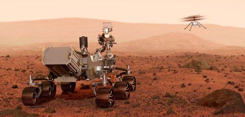 """""""Es ist als würde man dort stehen"""": Mars-Aufnahmen der NASA gehen unter die Haut"""