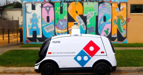Domino's Starts Autonomous Robot Pizza Deliveries