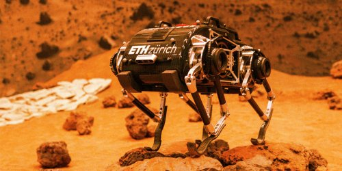 Scientists Built a Walking Mars Rover That Can Climb Steep Hills