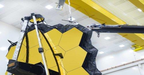 Watch the James Webb Space Telescope Open Its Massive, Golden Mirrors