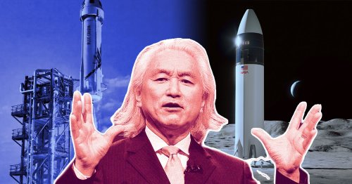 Michio Kaku: SpaceX Is Absolutely Destroying Blue Origin