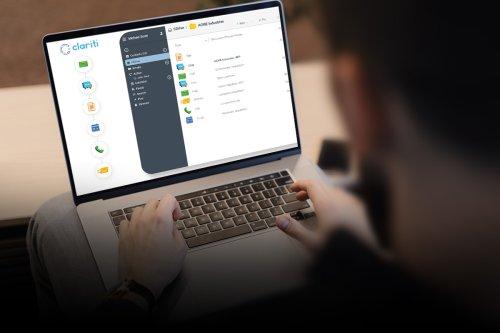 Clariti: it's like desktop folders, but smarter