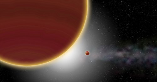 Scientists just took an actual picture of a planet in another star system