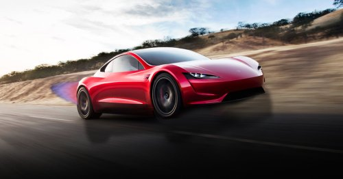 Elon Musk says an upcoming Tesla Roadster will hover. Is he joking?