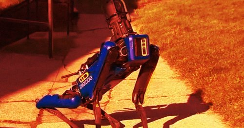 Outcry as Video Shows Robodog Patrolling With NYPD