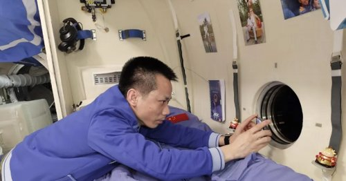 The Bunks in the Chinese Space Station Are Absolutely Enormous