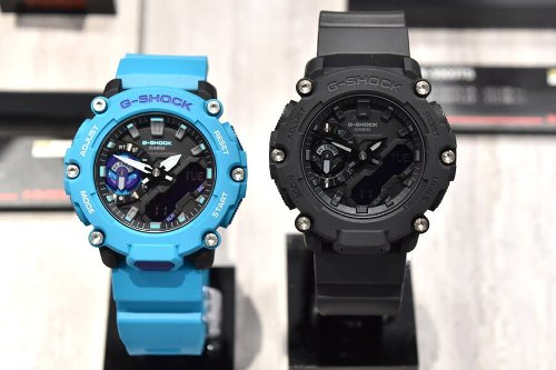 G-Shock GA-2200: Carbon Core Guard with Industrial Style – G-Central G-Shock Watch Fan Blog