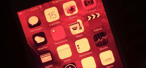 Keep Your Night Vision Sharp with the iPhone's Hidden Red Screen